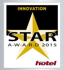 Top hôtel Star Award 2015 Or