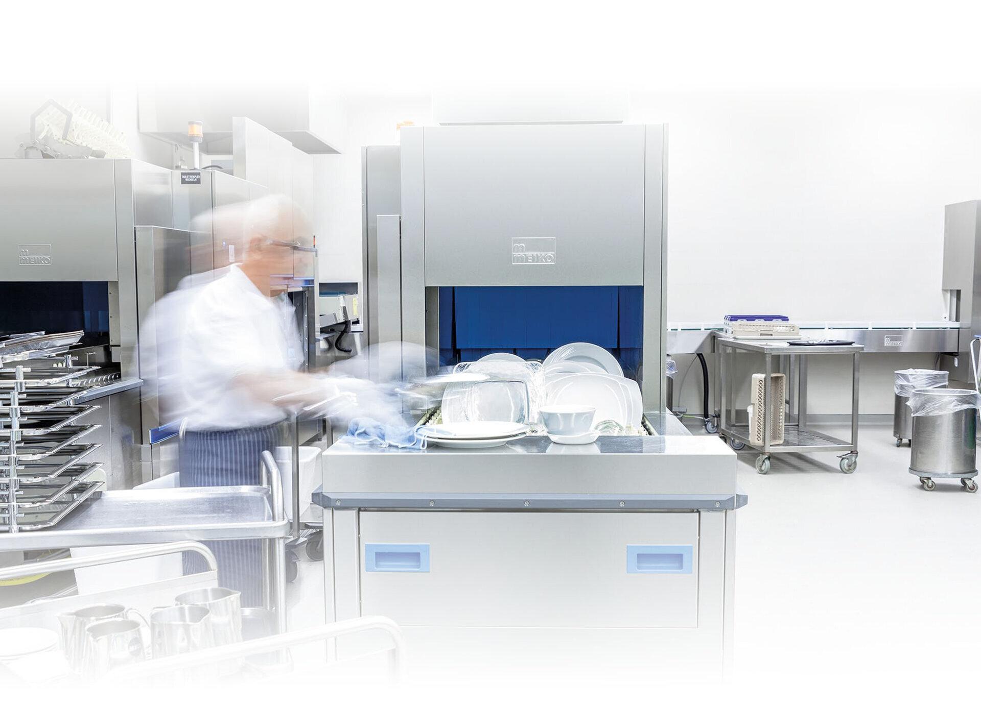 Fabuleux Lave vaisselle industriel à convoyeur M-iQ - MEIKO IZ42